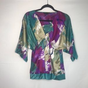 BCBG MAXAZRIA Multicolored Blouse